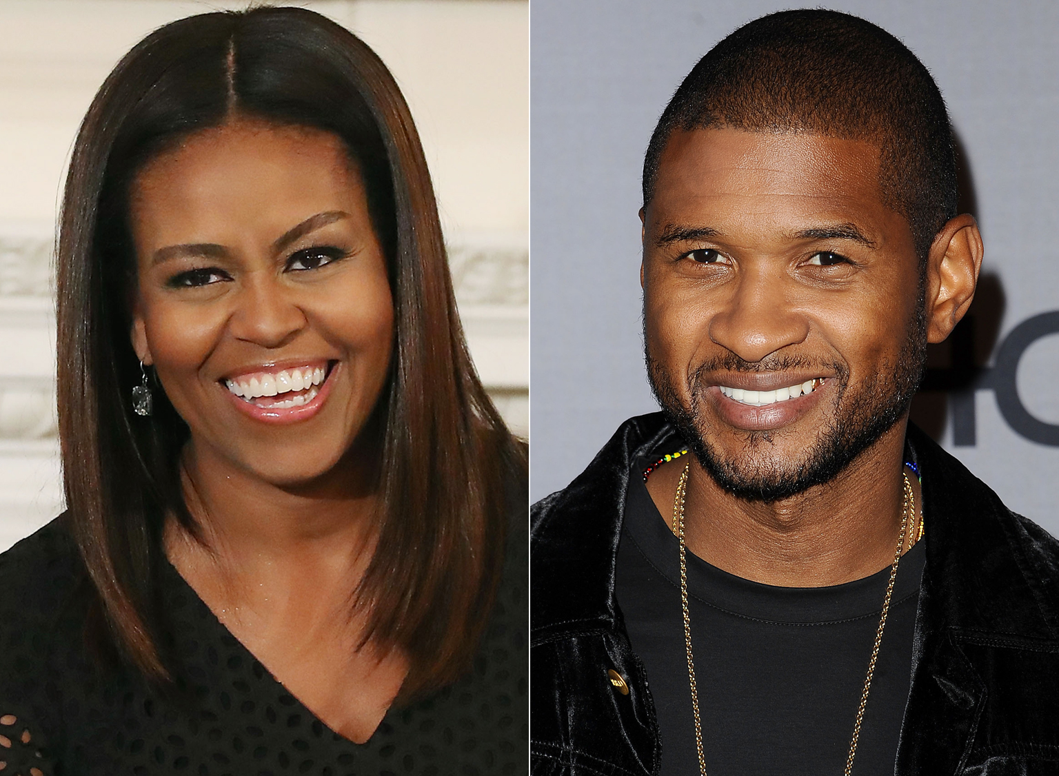 This Video of Michelle Obama Singing Along to Usher Will Make Your Day