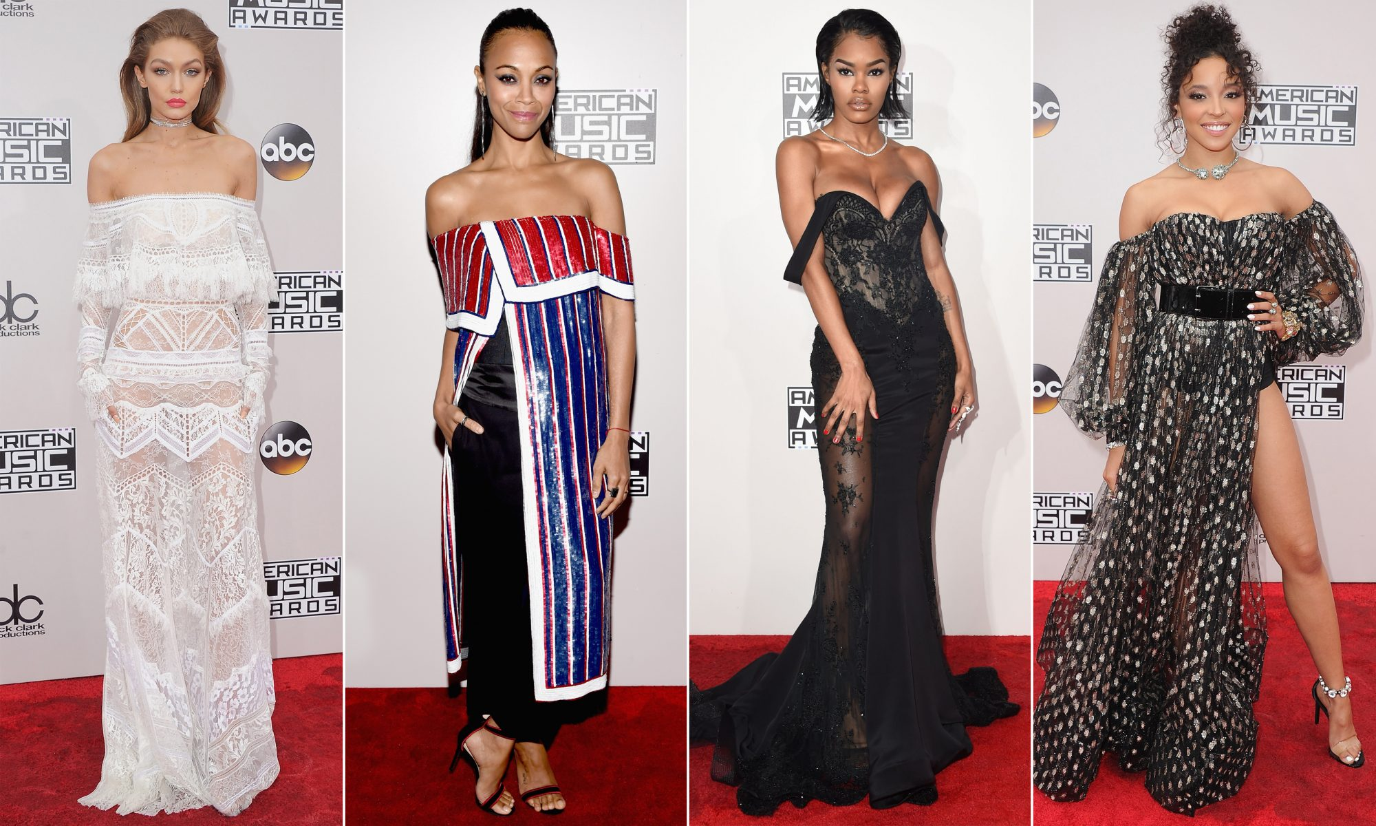 The 3 Biggest Fashion Trends from the 2016 American Music Awards
