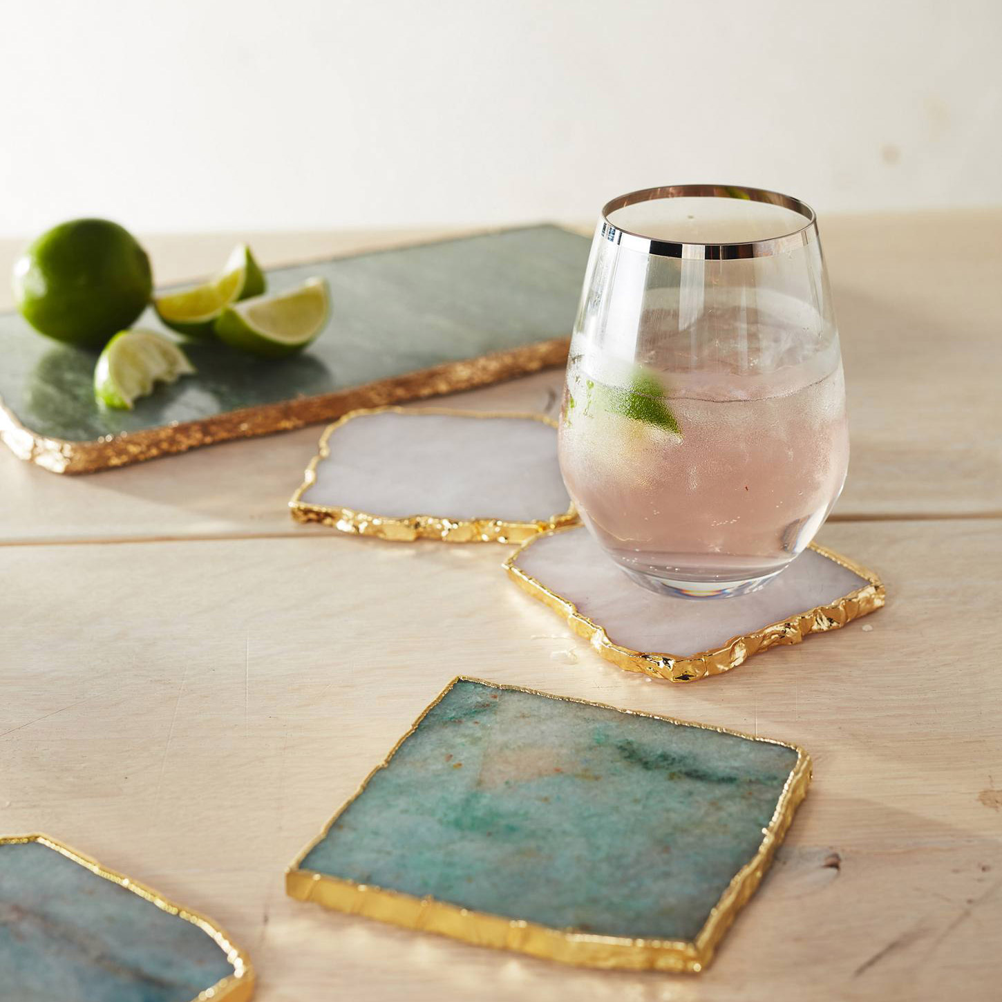 Anthropologie Stone Coasters