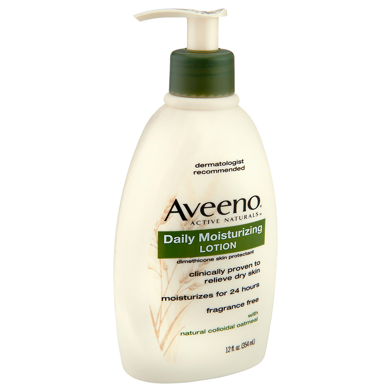 <p>Sensitive Skin: Aveeno Daily Moisturizing Lotion</p>