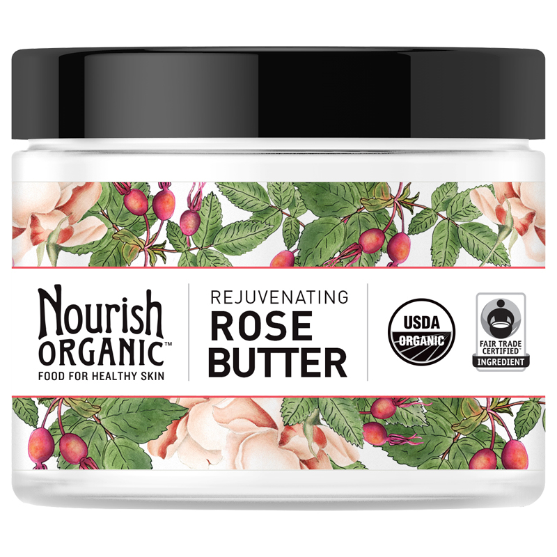 <p>Au Natural: Nourish Organic Rejuvenating Rose Butter </p>