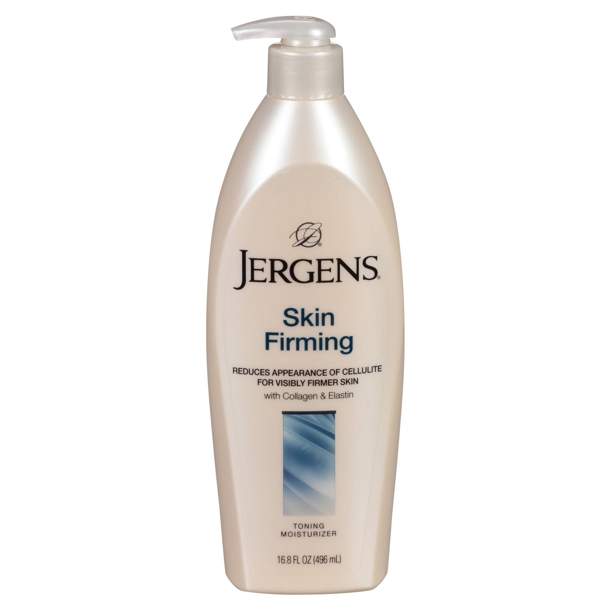 <p>Firming: Jergens Skin Firming Lotion&nbsp;</p>