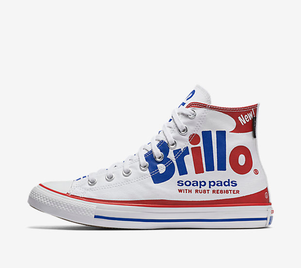 Converse Chuck Taylor All Star Andy Warhol Brillo High Top