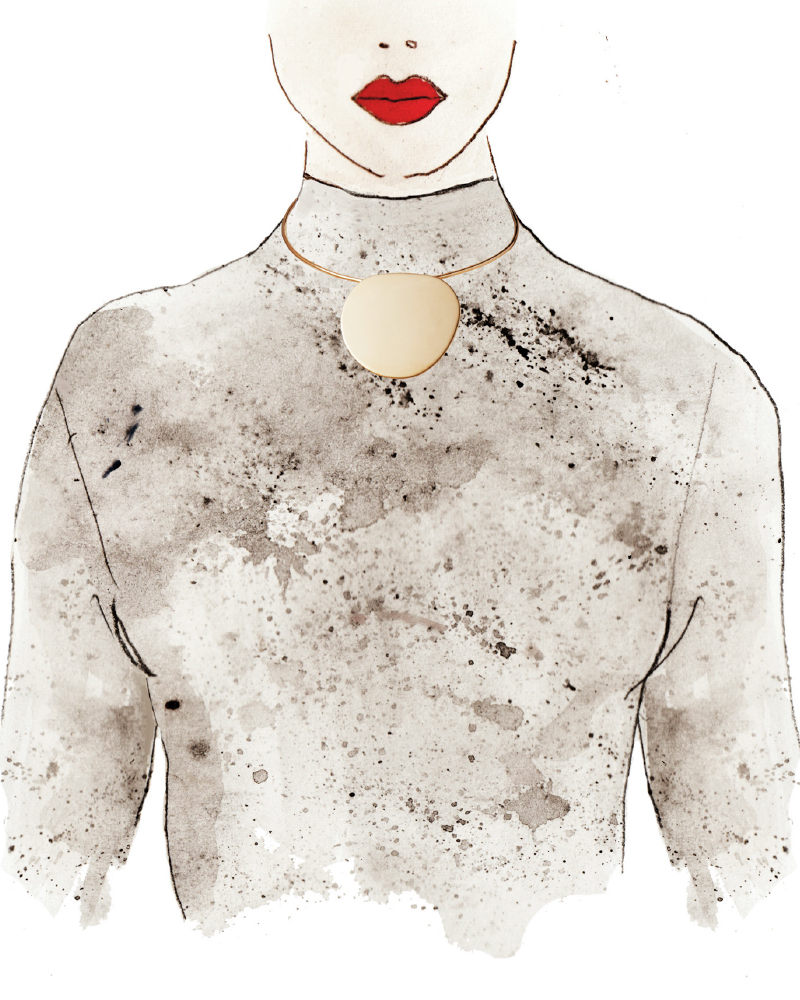 <p>Neckline: Turtleneck</p>