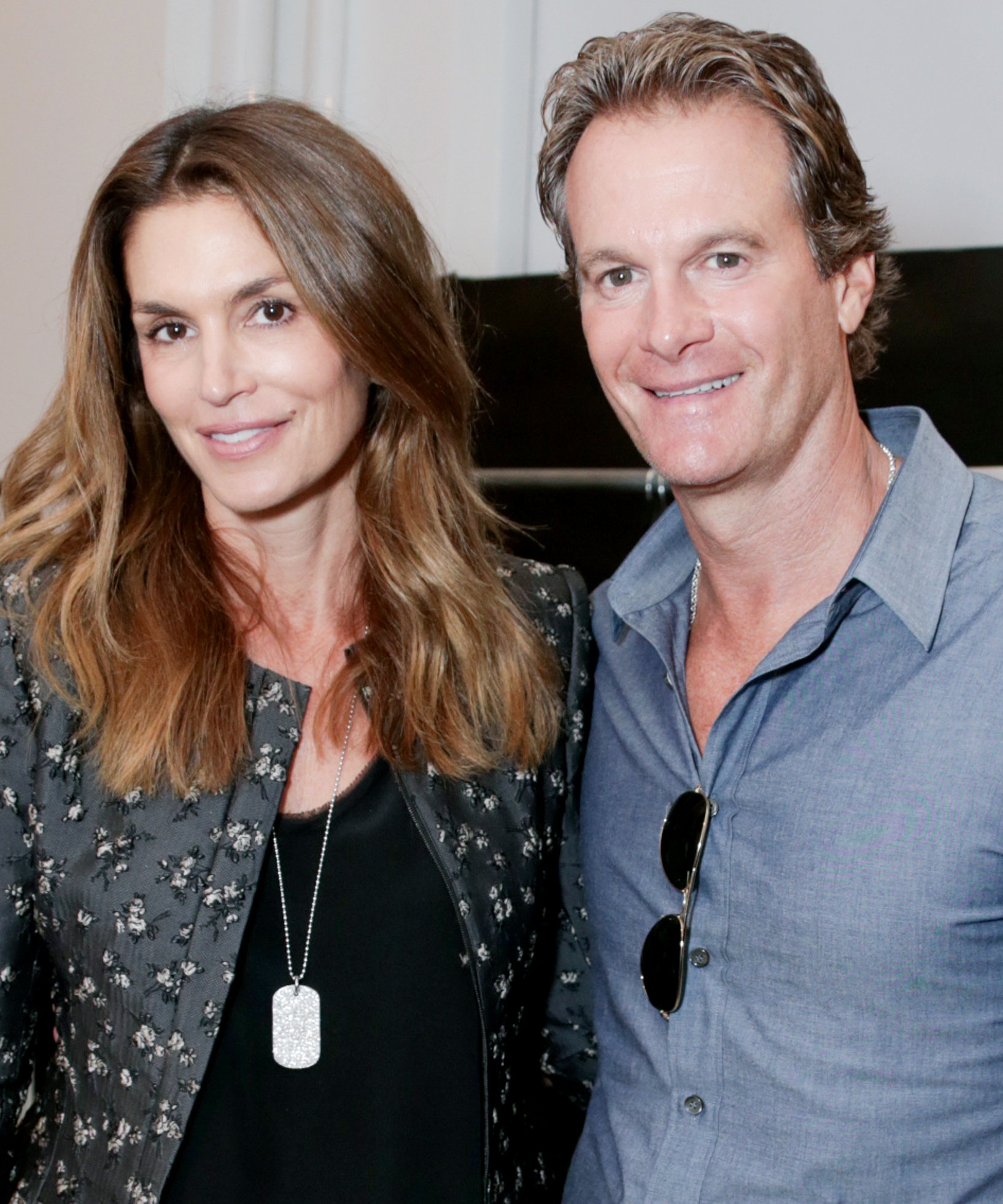 <p>Answer: Cindy Crawford and Rande Gerber</p>