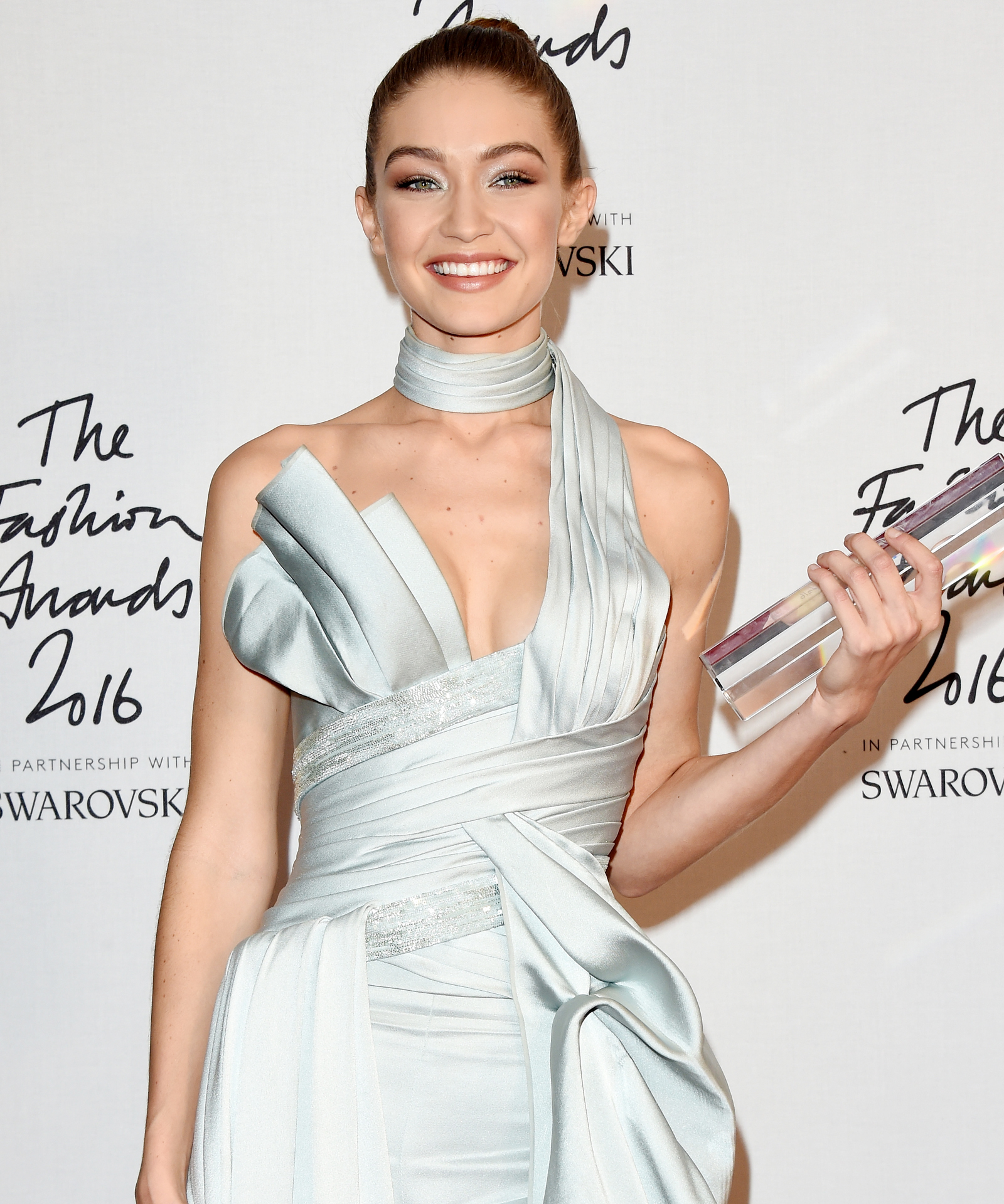 "Gigi Hadid Wins Model of the Year, Has One of the Most ""Emotional Experiences"" of Her Life"