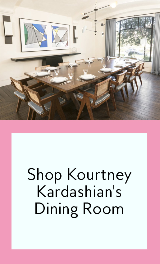 Peek Inside Kourtney Kardashianu0027s Modern Dining Roomu2014and Get The ... Part 34