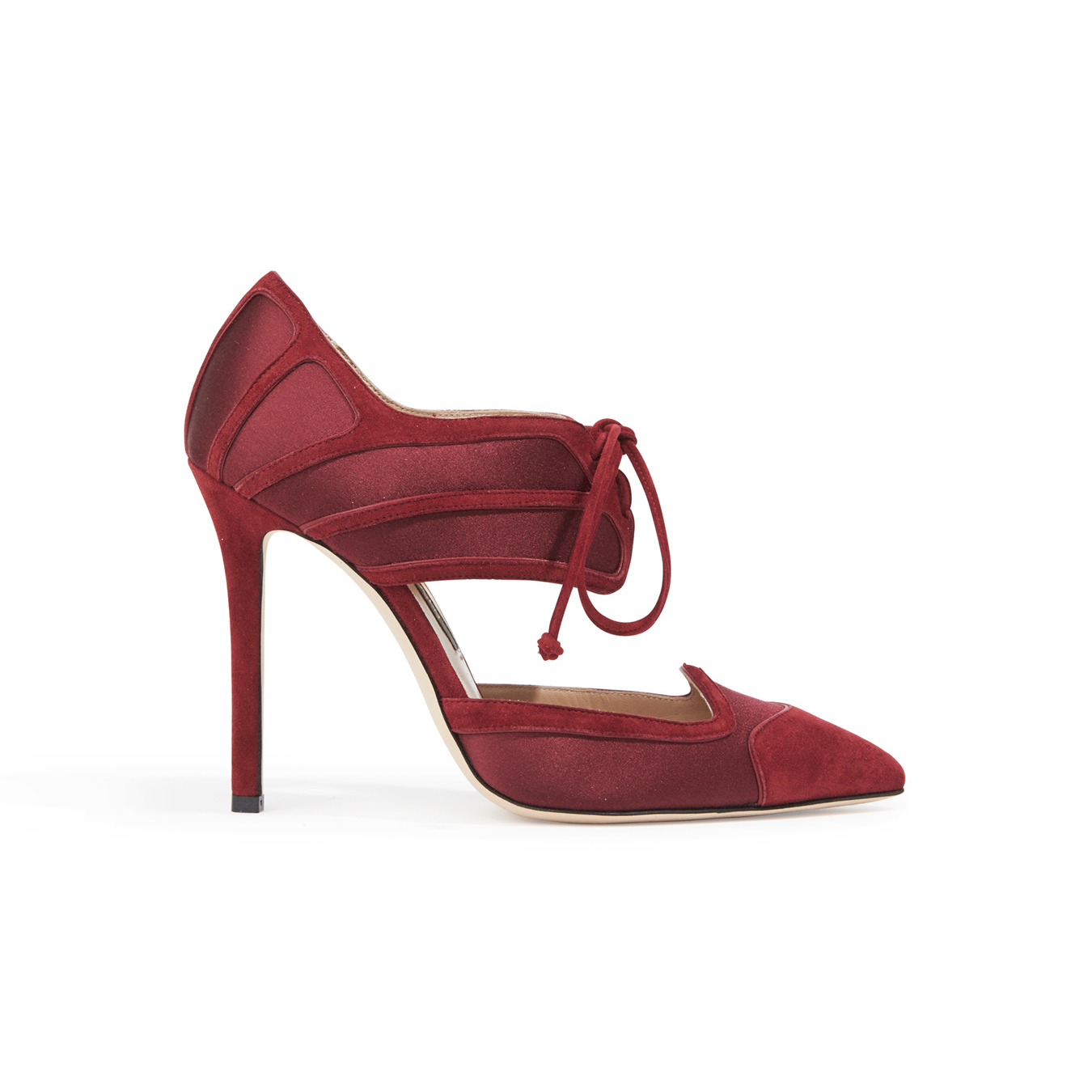 Zac Posen Lace-Up Pumps