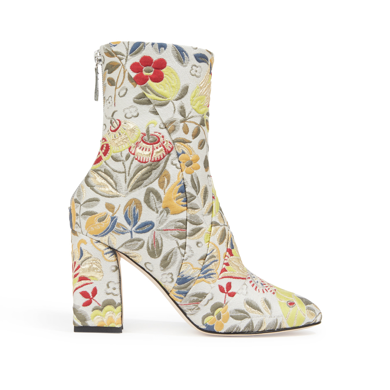<p>Zac Posen Embroidered Boots</p>