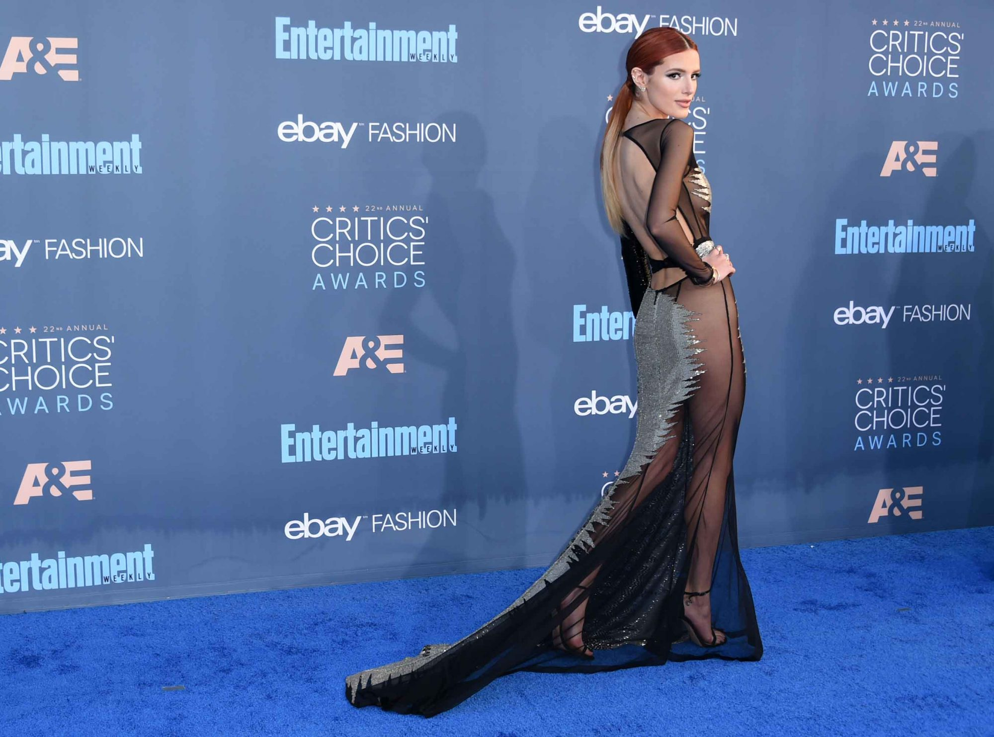 Bella Thorne CCA Dress - Embed 2