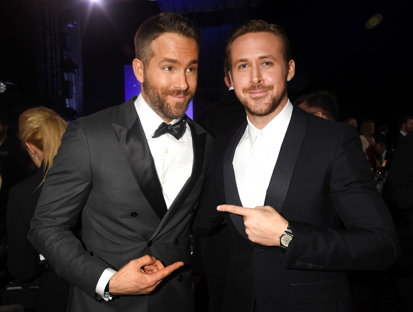 Ryan Reynolds and Ryan Gosling's Fangirl Moment Is Too Much to Handle