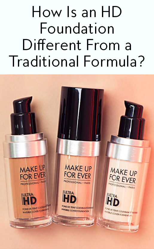 What Foundations Do Makeup Artists Use: What's The Difference Between HD Foundation And Regular