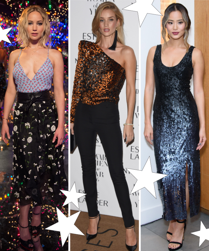 Celeb Inspired Holiday Looks - Lead