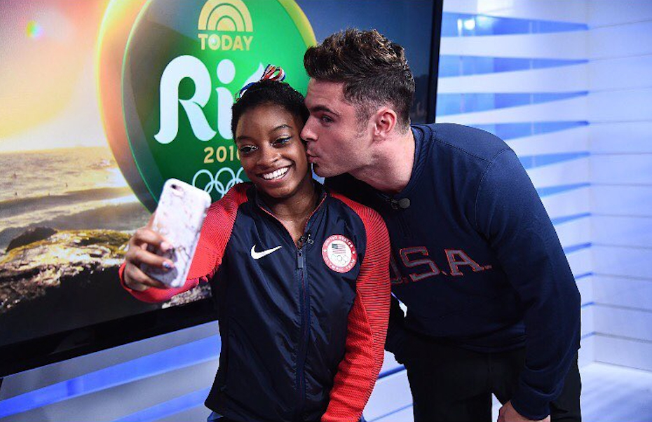 <p>Simone Biles Stars In Her Very Own Rom-Com?</p>
