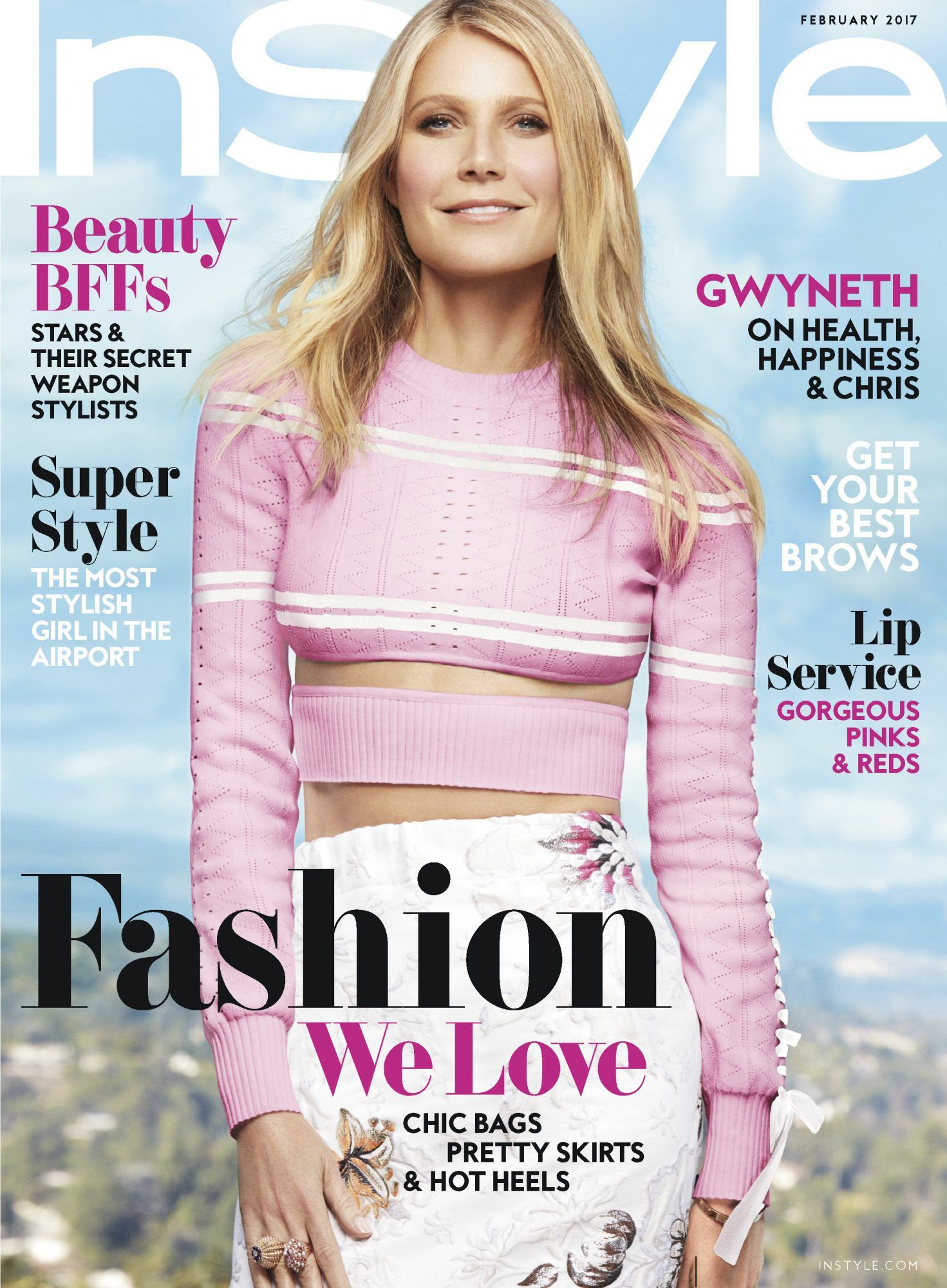 Gwyneth Paltrow Instyle February Cover Story