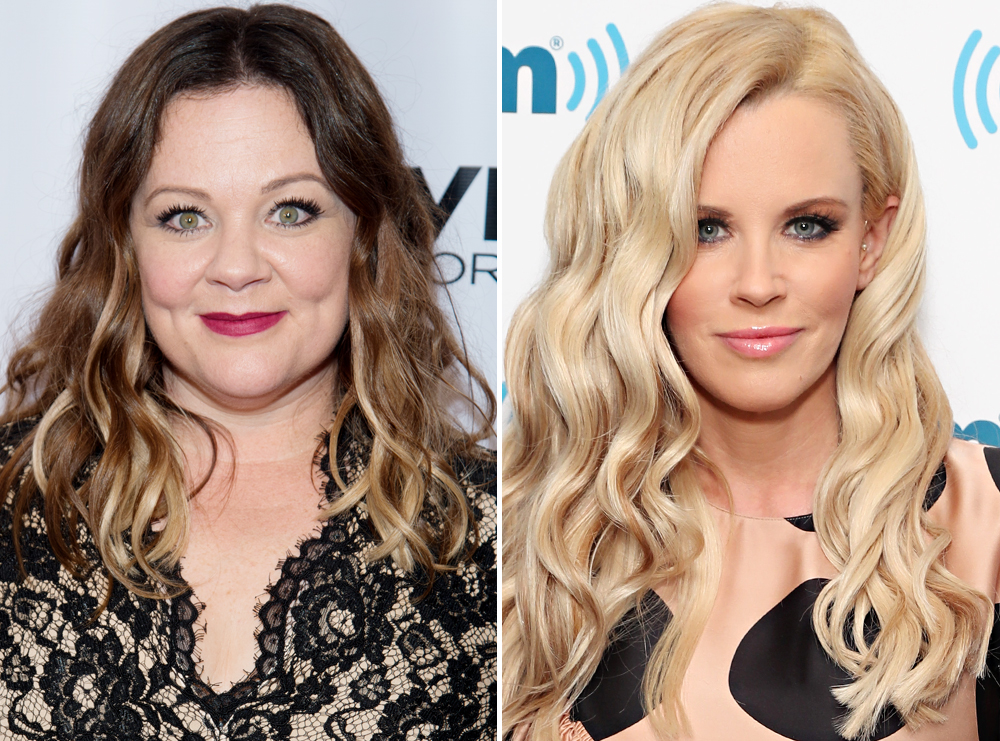 <p>Melissa McCarthy and Jenny McCarthy</p>