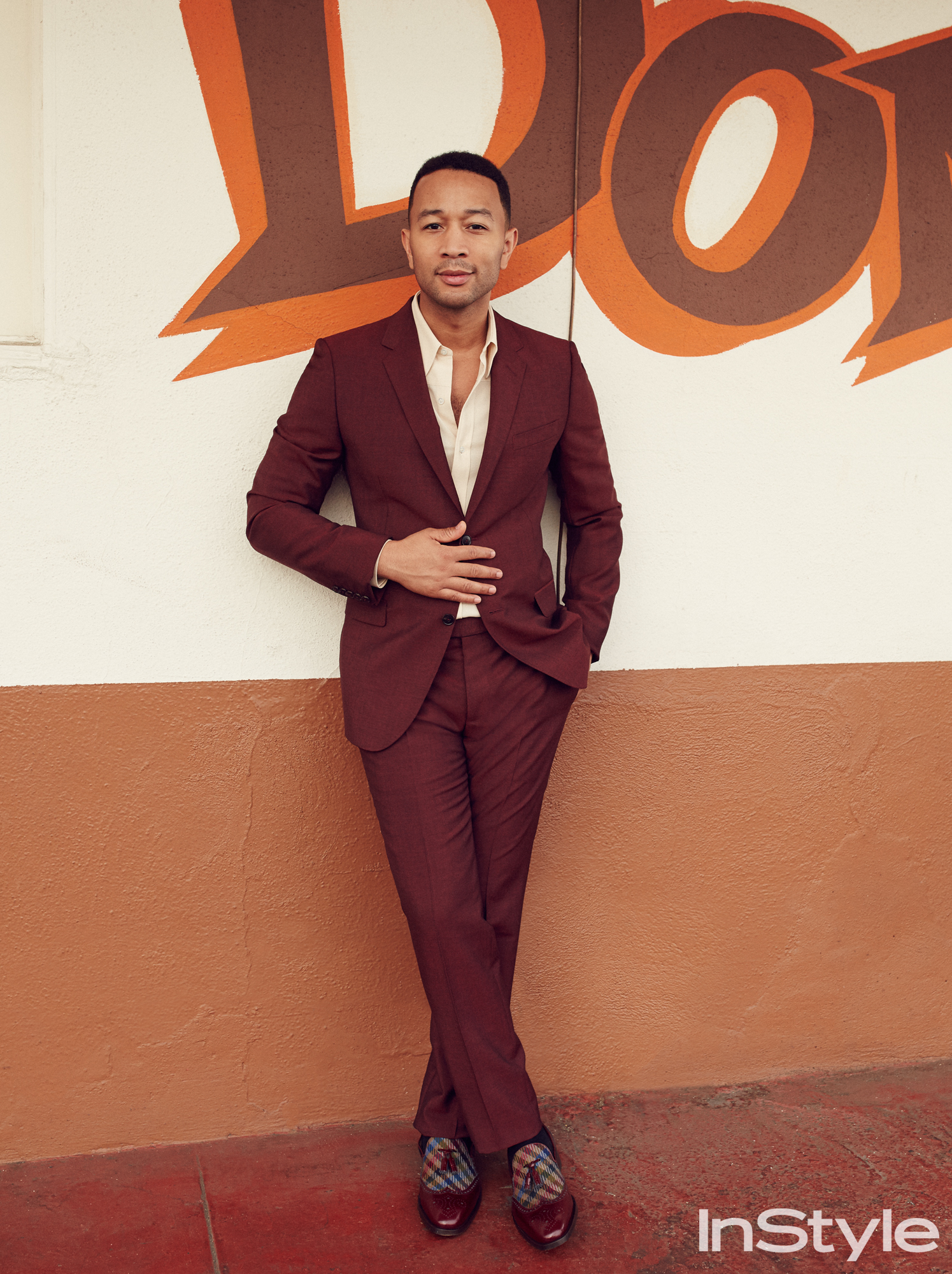 John Legend - InStyle February 2017 - SLIDE 2