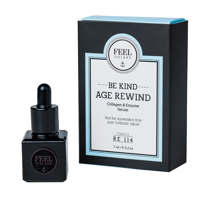 <p>Feel Iceland Be Kind Age Rewind Serum</p>