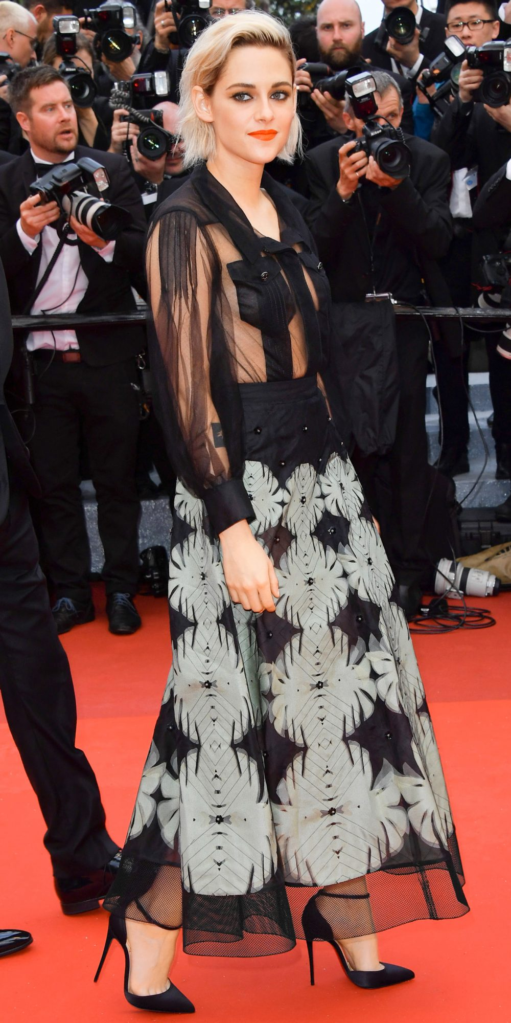 <p>In Chanel at the Cannes Film Festival, 2016</p>