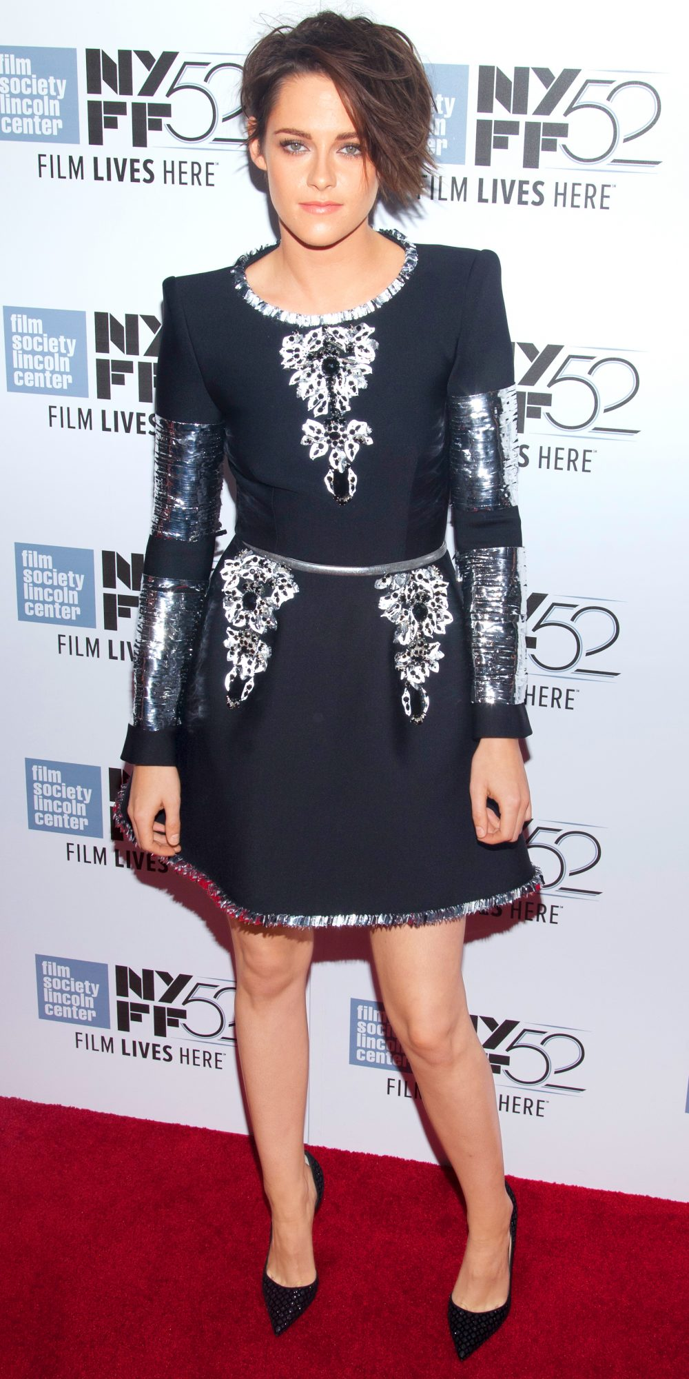 <p>In Chanel Couture at the New York Film Festival, 2014</p>