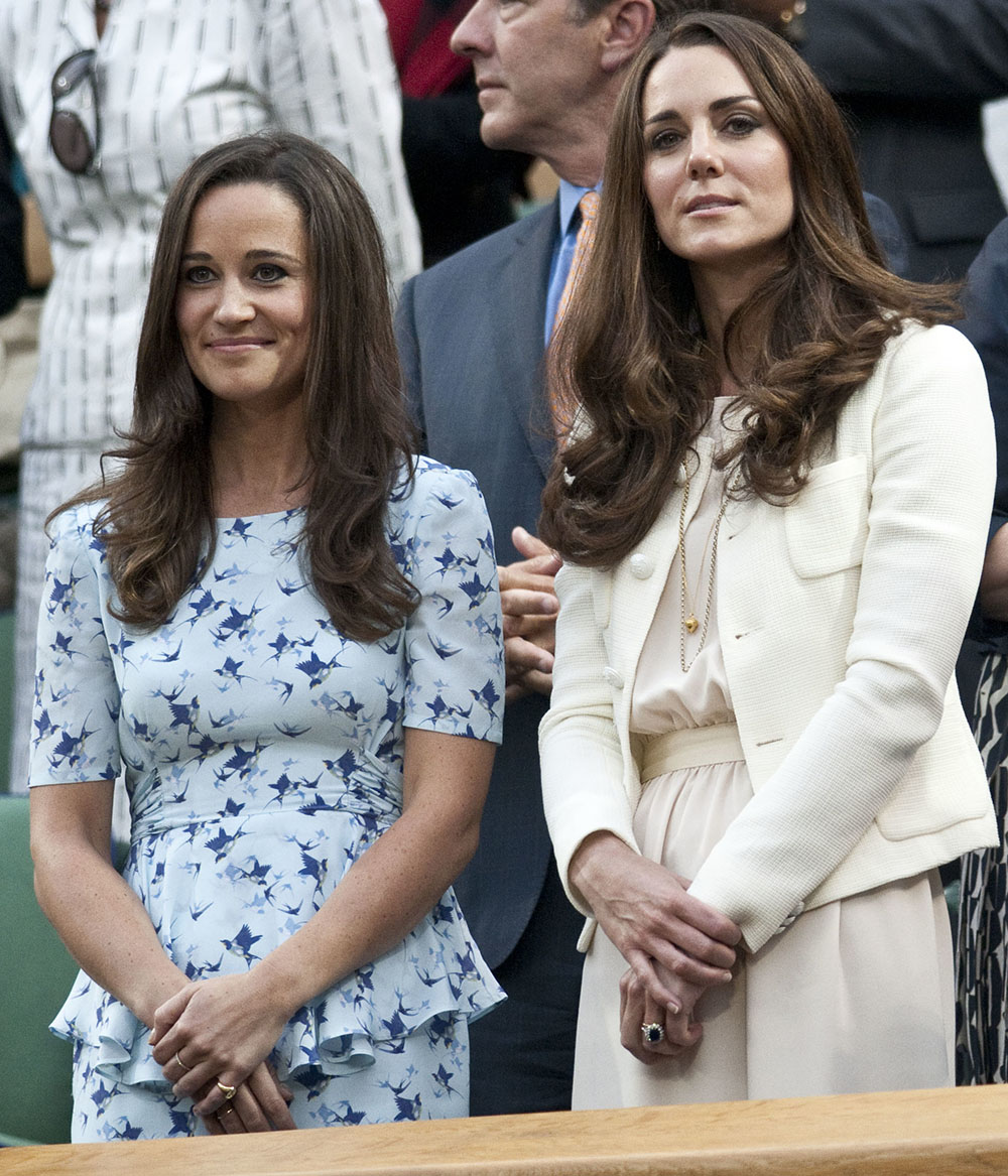 Kate Middleton and Pippa Middleton LEAD