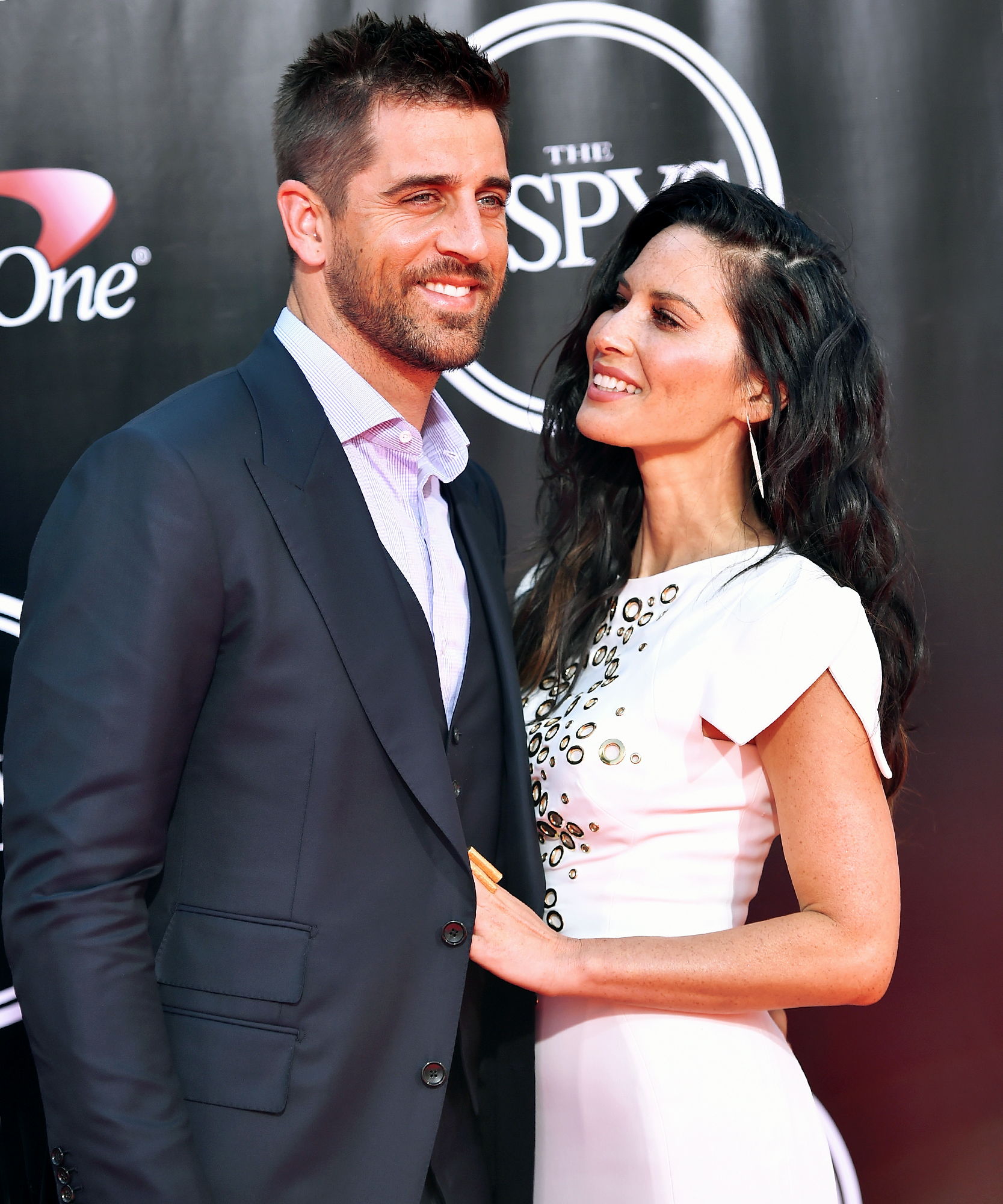 Is Olivia Munn Engaged to Aaron Rodgers? Actress Sports Engagement-Style Ring on Left Hand