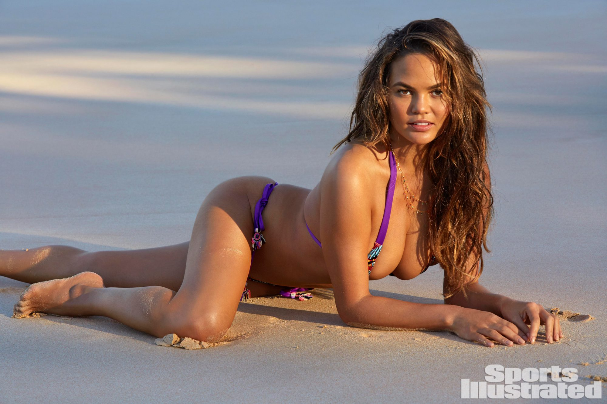 Chrissy Teigen Shows Off Post-Baby Body in New <em>SI</em> Swimsuit Special