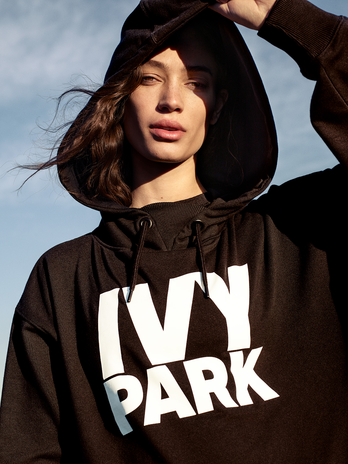 Sophie Koellain the Ivy Park Spring 2017 Campaign