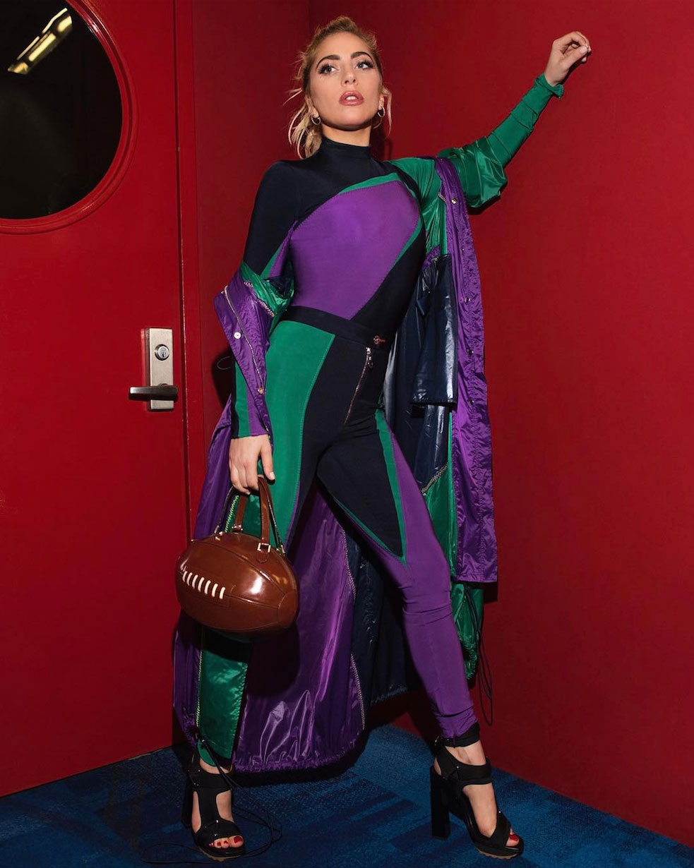 Lady Gaga's Super Bowl Prep Is Dramatic <em>and</em> Thematic