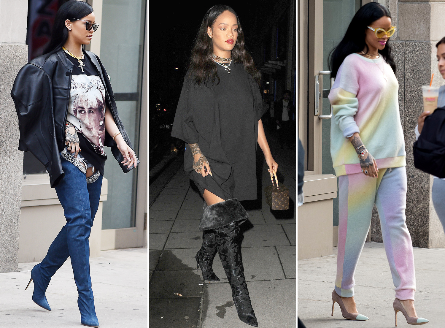 15 Times Birthday Girl Rihanna Made Sweats Look Chic as Hell