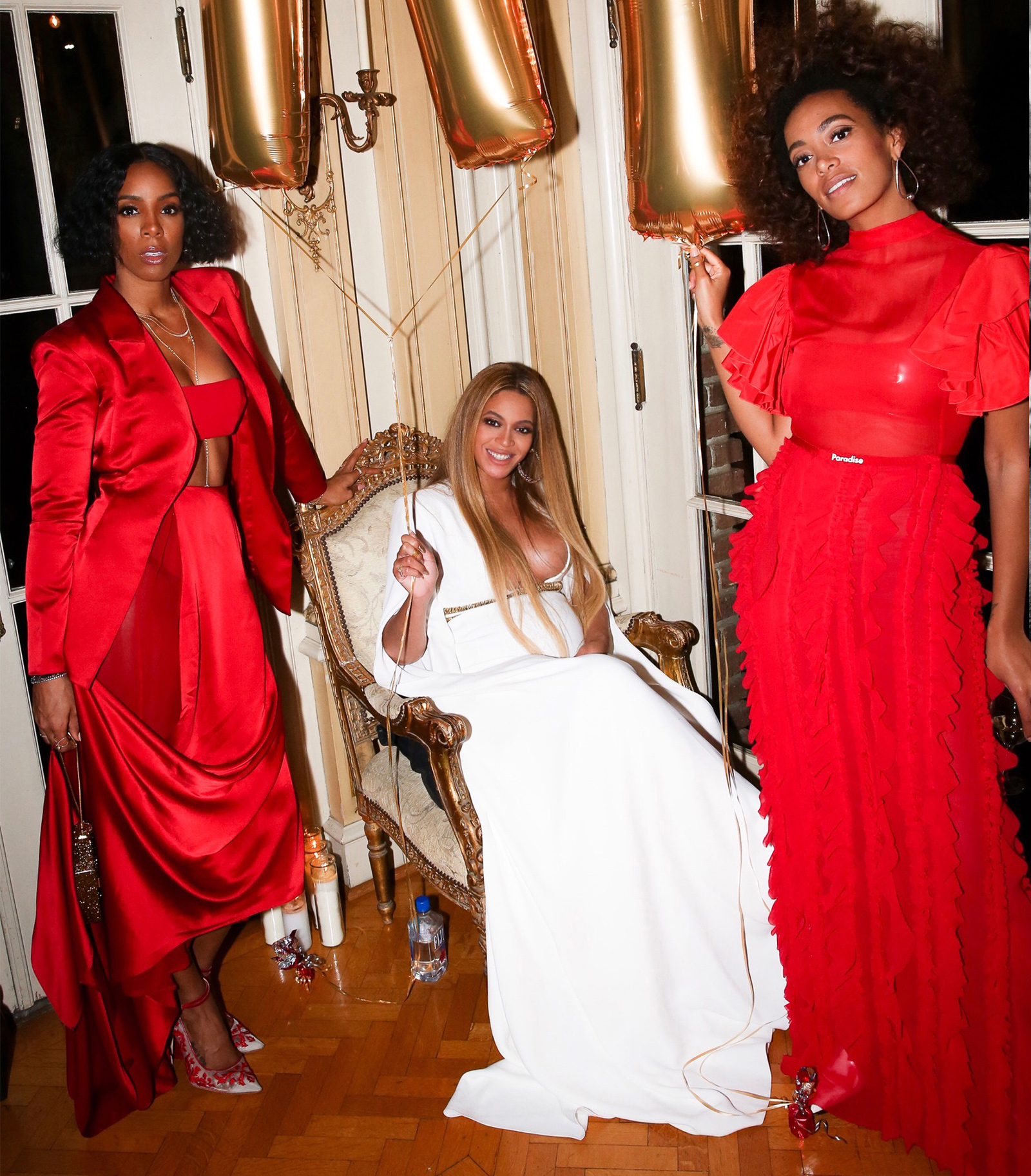 Solange's Post Grammys Party - Beyonce - EMBED 2