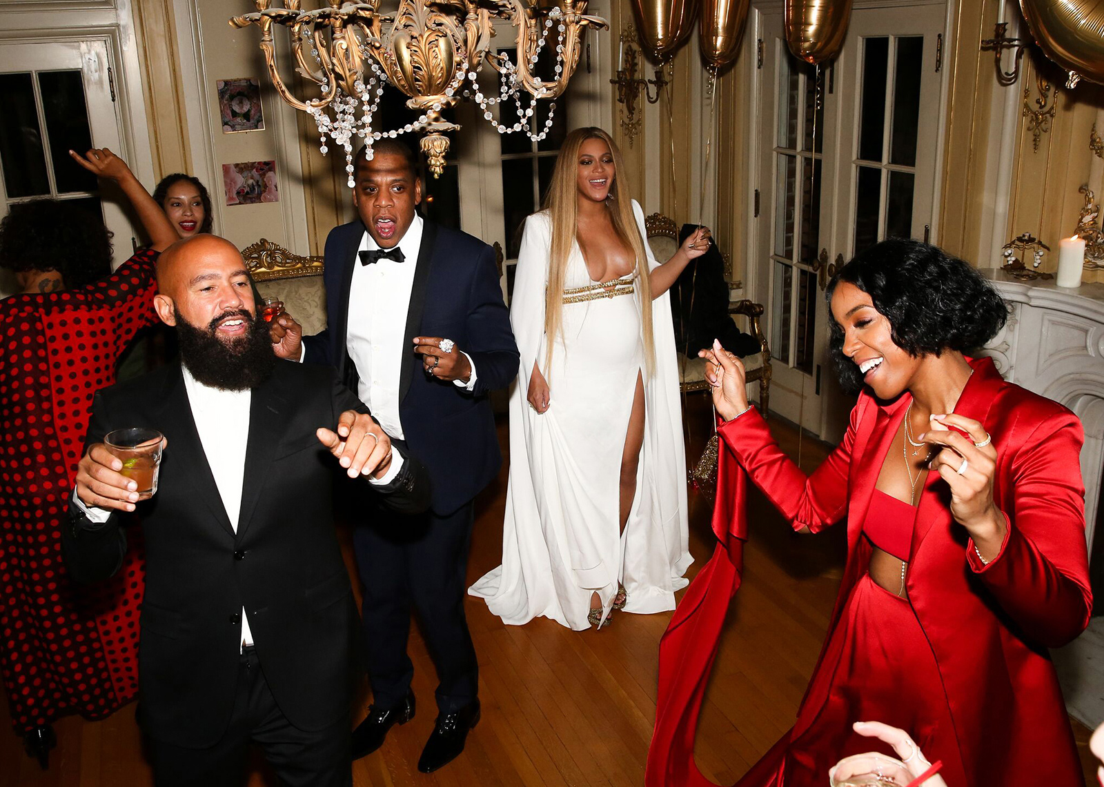 Solange's Post Grammys Party - Beyonce - EMBED 1