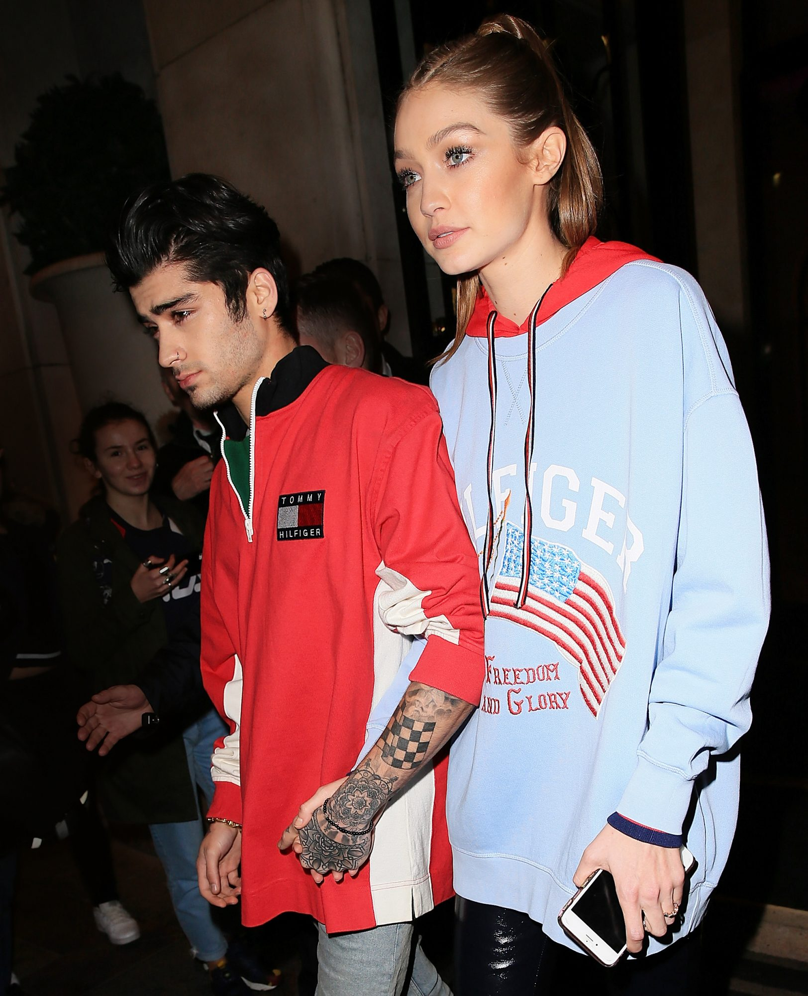 Gigi Hadid and Zayn Malik Street Style Paris - LEAD