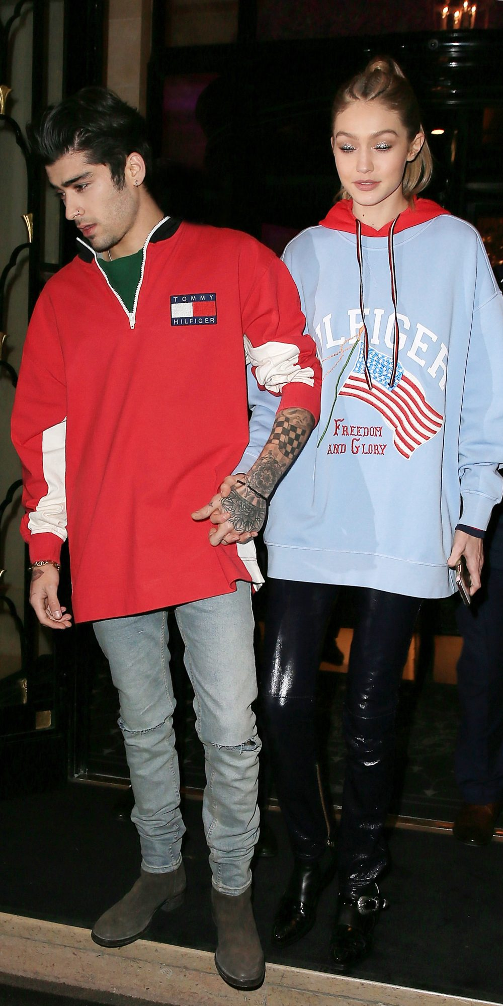 Gigi Hadid and Zayn Malik Street Style Paris - Embed/Slide