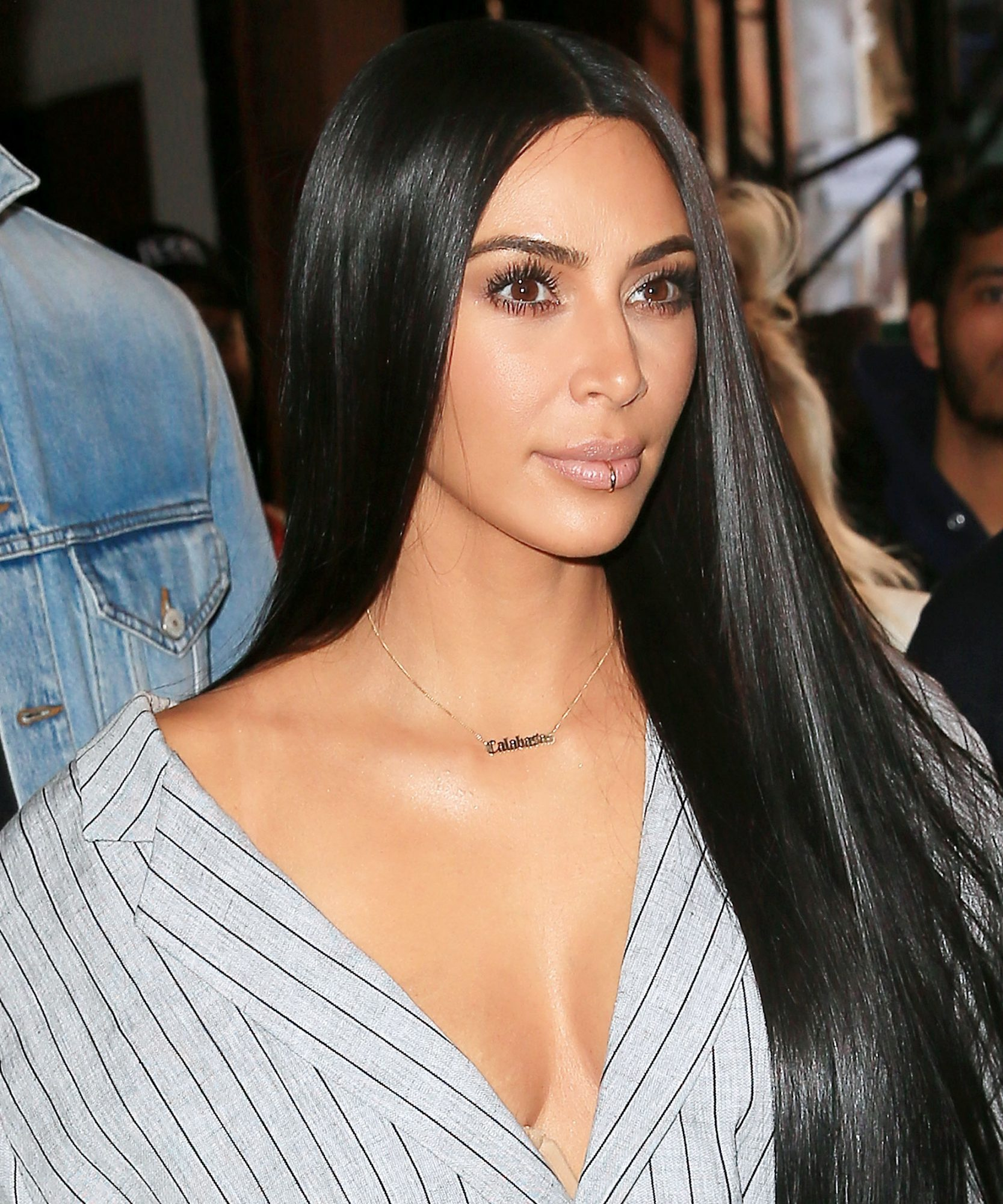 Kim K. Is Really Trying to Make the Lip Ring Happen—Shop Her Favorites