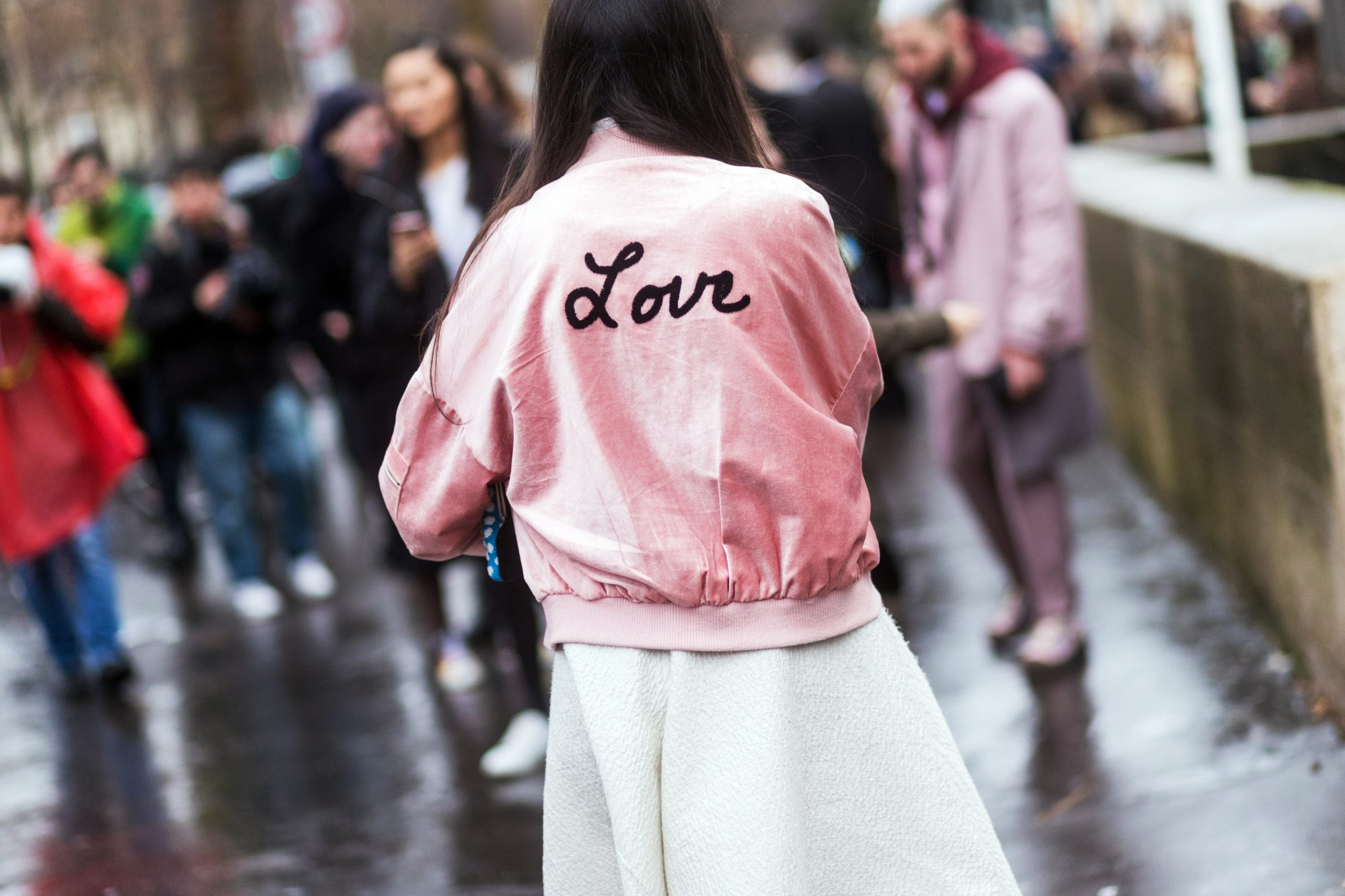STATEMENT BOMBER JACKET