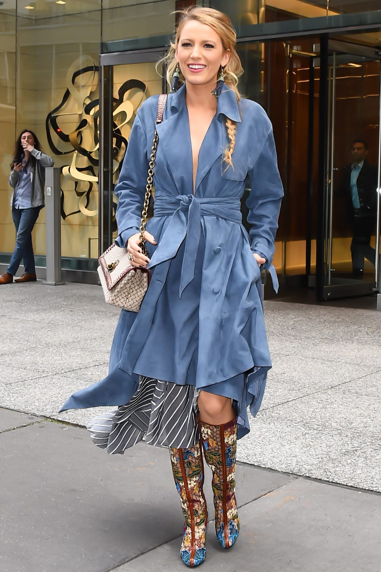 Blake Lively S Best Street Style Looks Instyle Com
