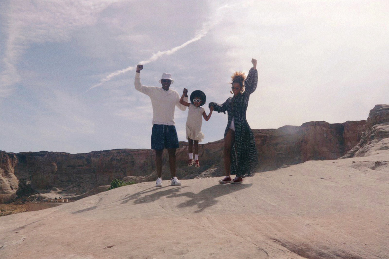 Beyonce and Jay Z at Grand Canyon