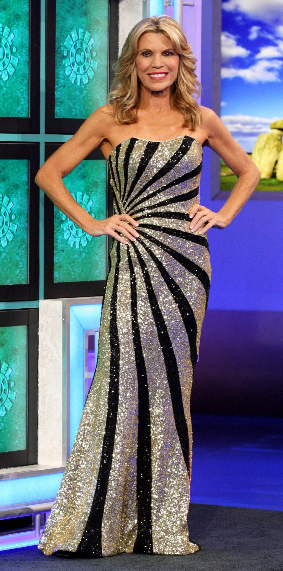 a766bcb27 Vanna White Has Worn More Than 6500 Gowns on  Wheel of Fortune —But ...