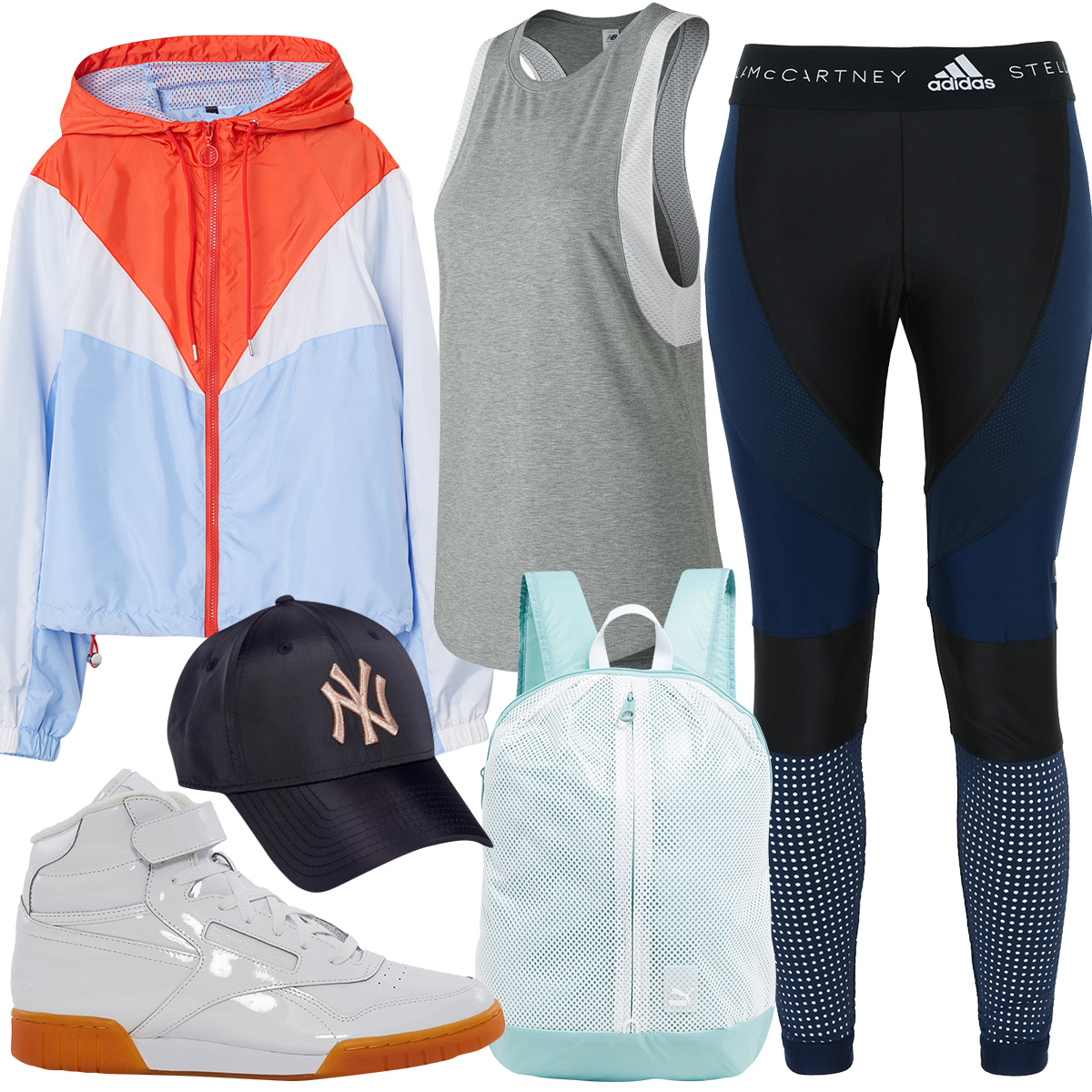 For an Athletic Look