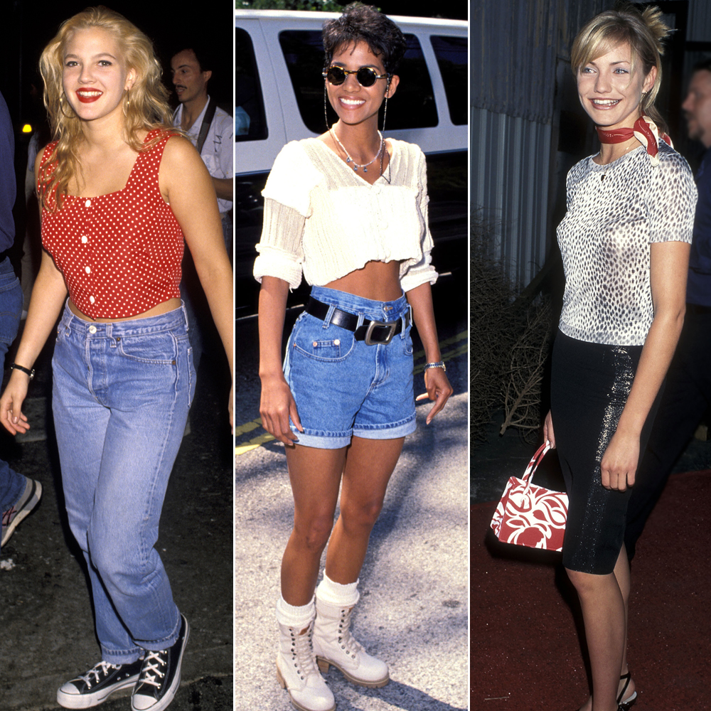 90s Fashion Trends Women Images Galleries With A Bite