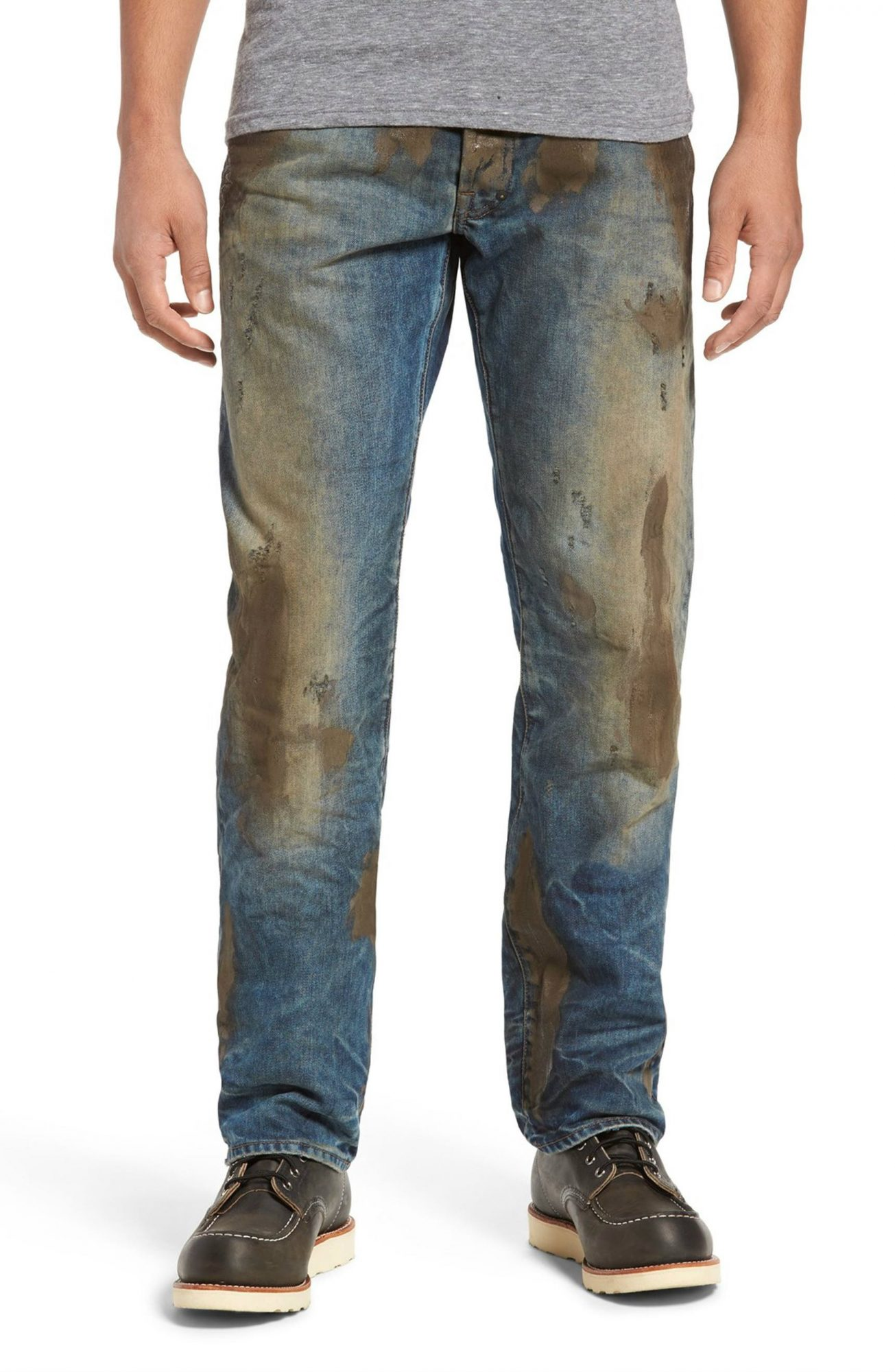 These $425 Jeans Come Pre-Covered in Mud from Nordstrom