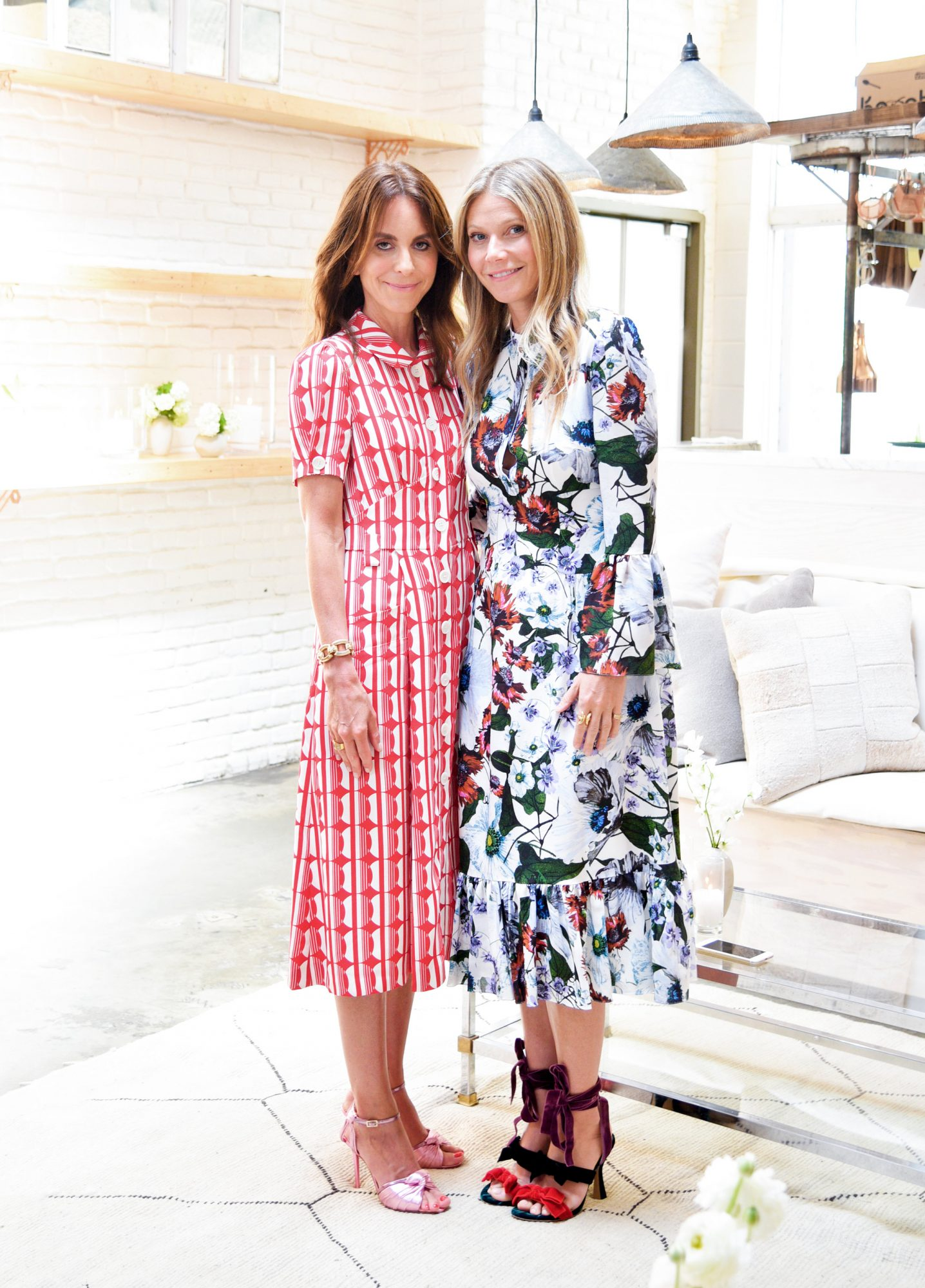 <p>Alison Loehnis and Gwyneth Paltrow</p>