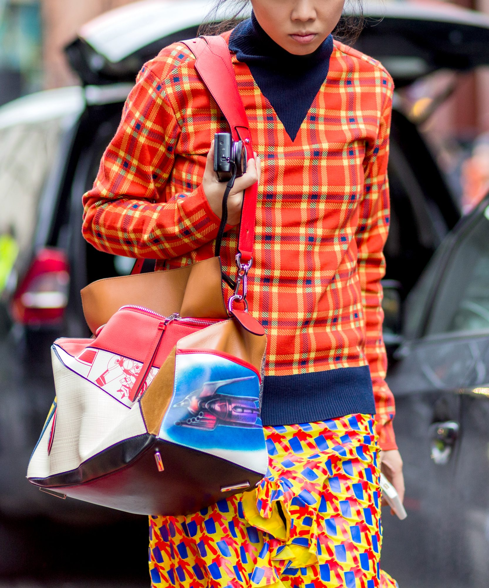 How to Mix Prints Like a Street Style Pro