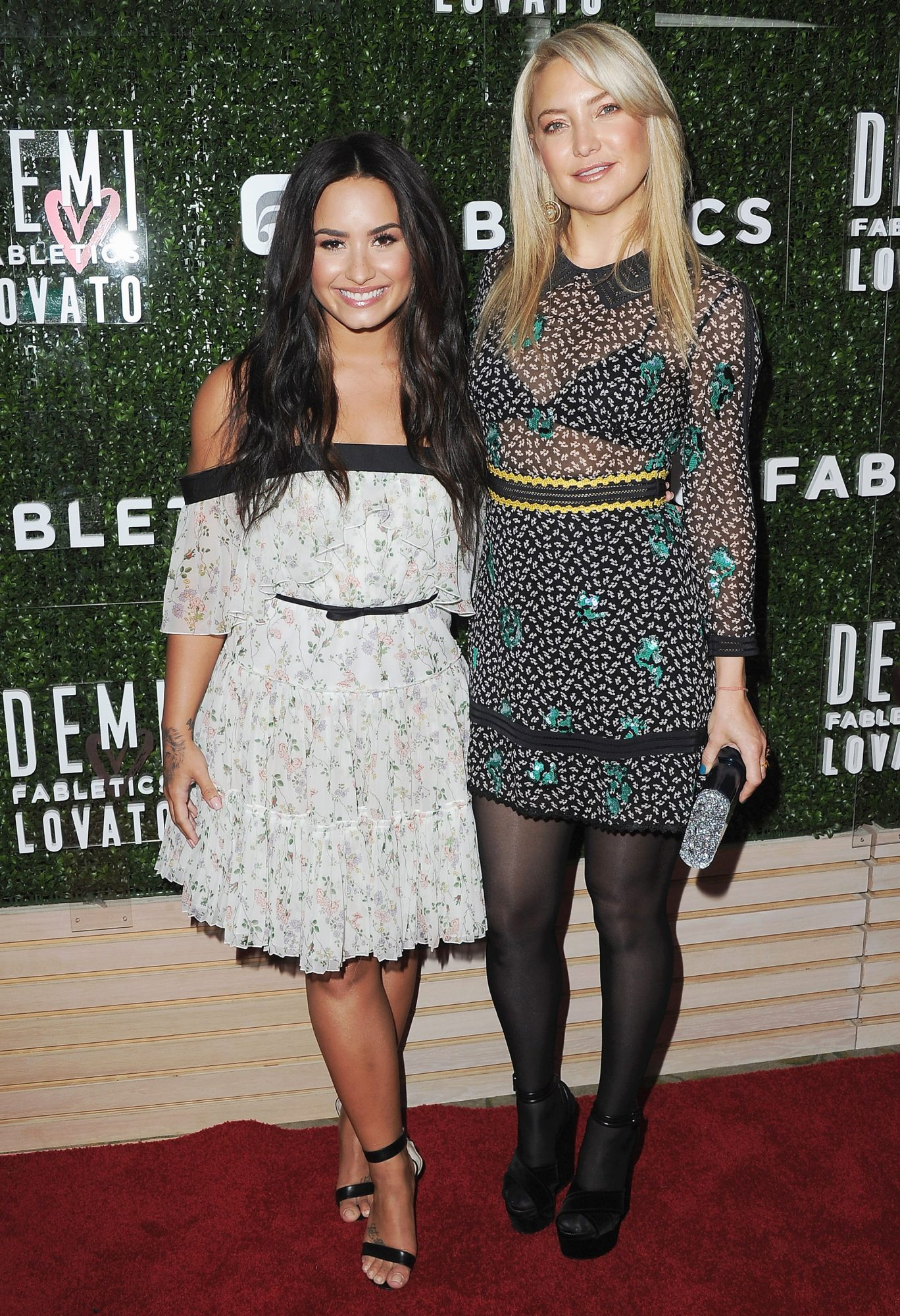 Demi Lovato's Fabletics Collab with Kate Hudson Started from a Chance Meeting at the Gym