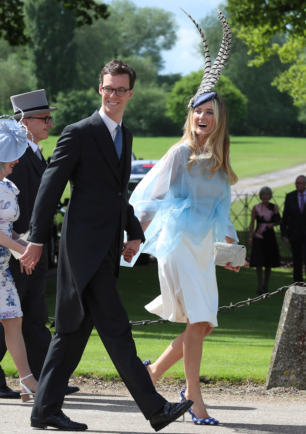 The Best Fascinators at Pippa Middleton's Wedding LEAD