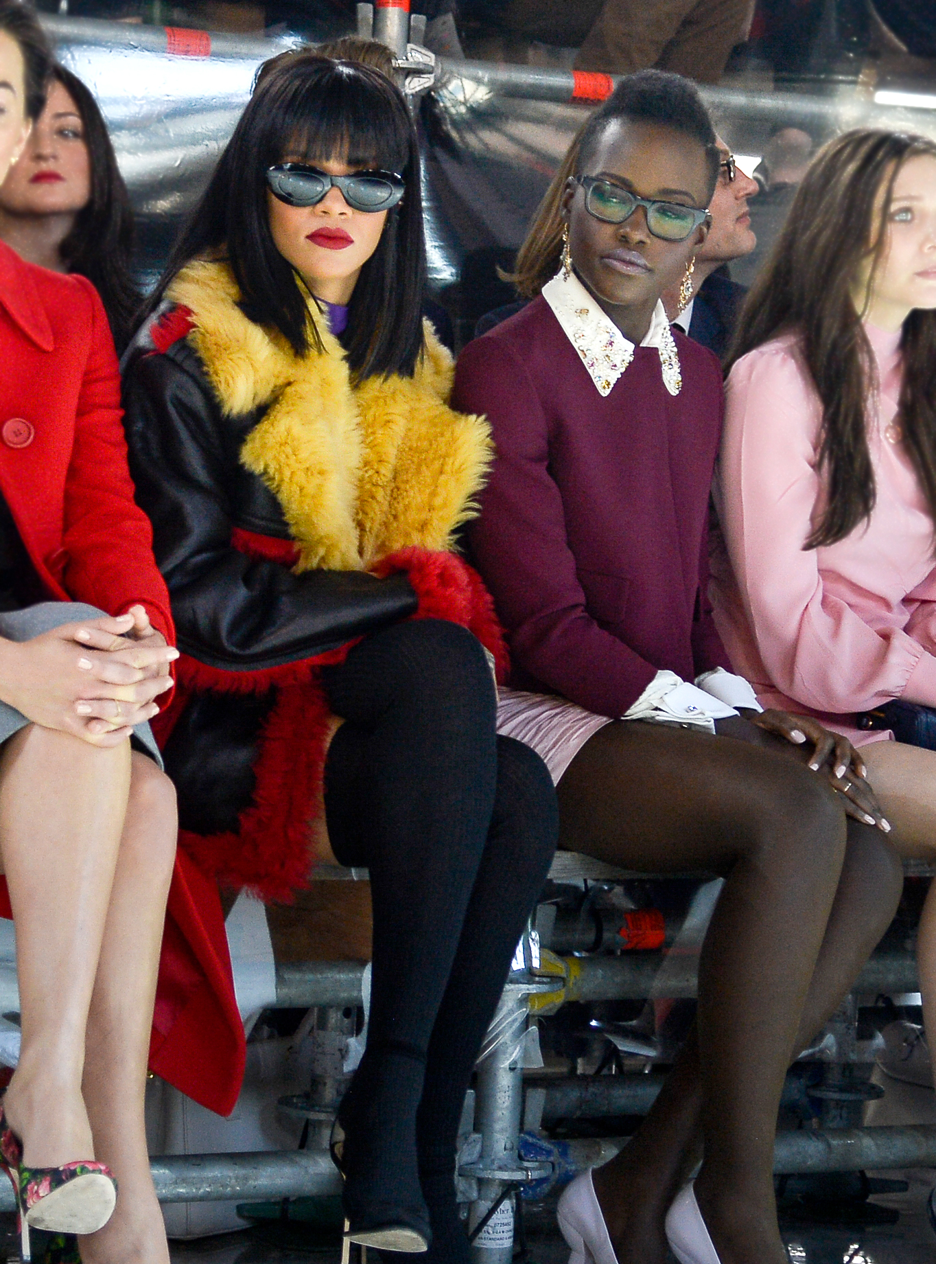 That Rihanna and Lupita Nyong'o Buddy Movie Is Actually Going to Happen
