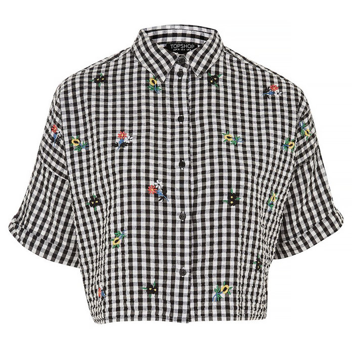 <p>EMBROIDERED SHIRT</p>