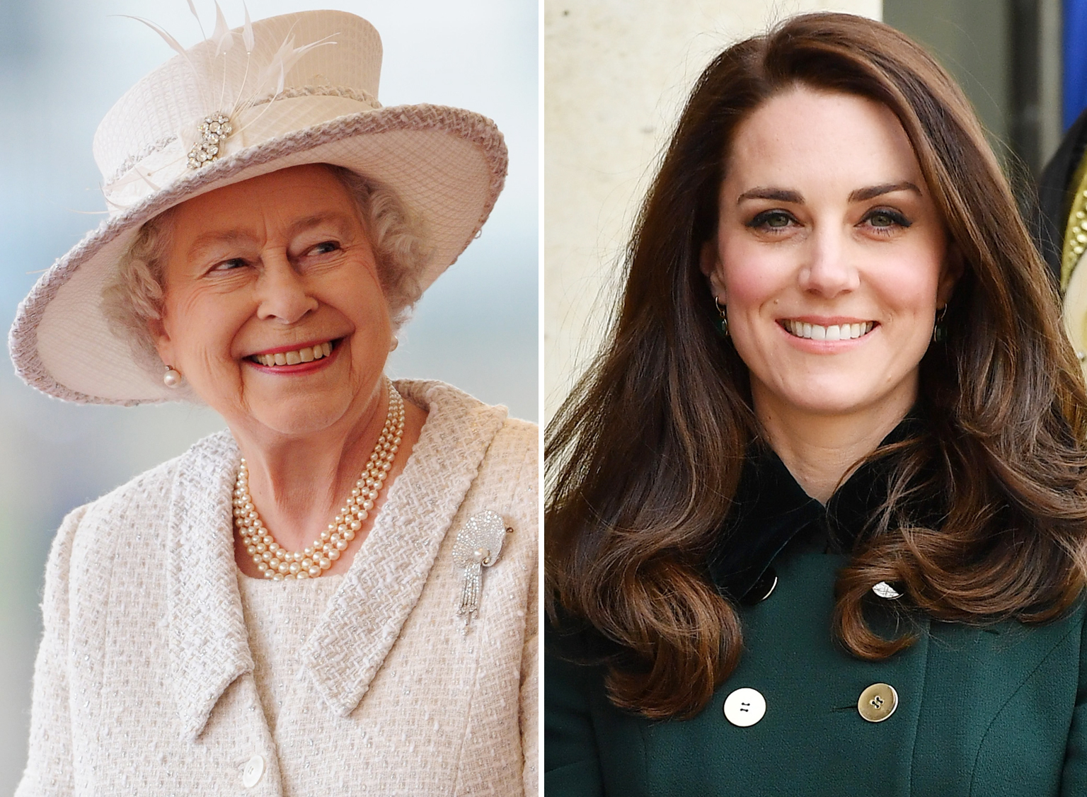 Queen Elizabeth Kate Middleton Lead