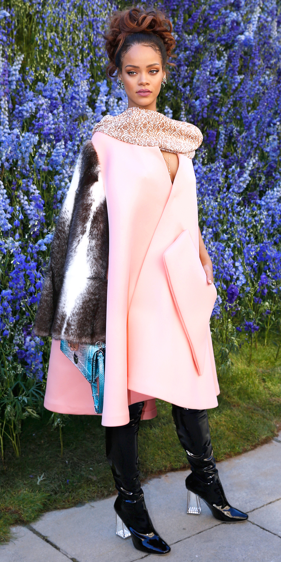 <p>In Dior Couture at the Dior show in Paris (2015)</p>